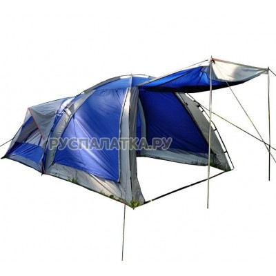 Палатка кемпинговая 4 местная ST-7060 + кухня-шатер