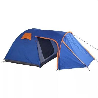 Палатка 4 местная с козырьком и тамбуром ST-6050