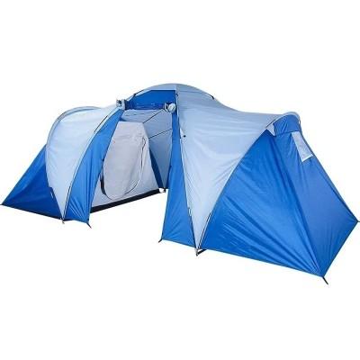 Палатка 6 местная 3-комнатная с тамбуром ST-6990-3