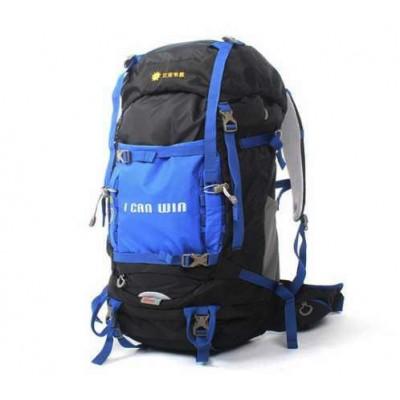 Рюкзак походный 50л + 5л со спинкой и алюминиевым каркасом